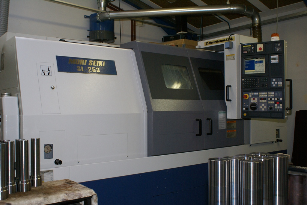 Mori Seiki SL-253BMC 1000